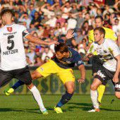 7000 Fans sahen Altacher 0:0-Remis gegen Meister Salzburg