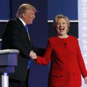 Clintons Sieg im Duell