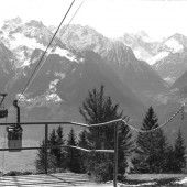 Vorarlberg Einst und Jetzt. Die Muttersbergbahn in Bludenz-Nüziders