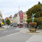 Vorarlberg Einst und jetzt. Bludenzer Vorstadt St. Jakob