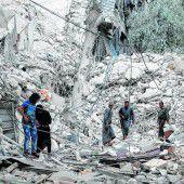 Massive Luftangriffe treffen Aleppo