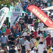 Über 73.000 Besucher auf der 68. Herbstmesse