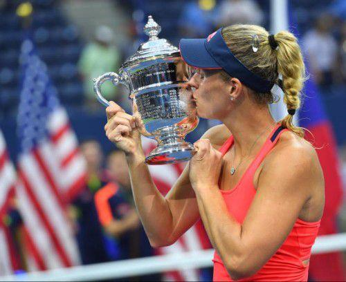Angelique Kerber gewann die US-Open zum ersten Mal in ihrer Karriere. Foto: gepa