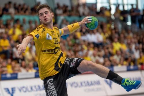 Ante Esegovic erzielte zehn Treffer, davon sieben per Siebenmeter. gepa