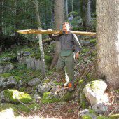 Schutzwald bekam in Au ein Schaufenster