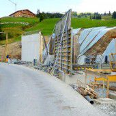 Tunnelbau in vollem Gange
