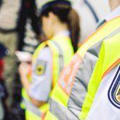 Lindauer Polizei stoppte bei Hörbranz Migranten