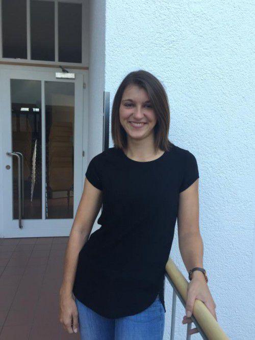 Bereits als Jugendliche stand für Stephanie Schallert aus Nenzing fest, dass sie eines Tages Lehrerin werden möchte.  Foto: VN/HEEL