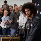 Aufregung um NFL-Star wegen Hymnen-Protest