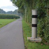Radar auf dem Radweg