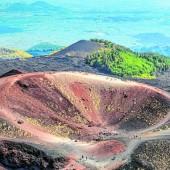 Aktiver Vulkan Ätna