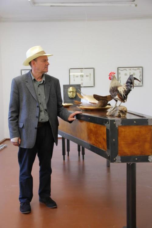 Der Bildhauer Christoph Lissy und die Malerin Marion Matha zählen zu den bekanntesten Vertretern des Vorarlberger Kunstschaffens. Foto: AG