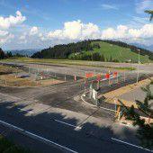 Parkplatz am Bödele um 70 Plätze erweitert