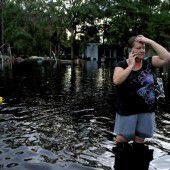 Überschwemmungen nach Sturm Hermine