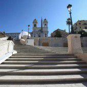 Picknick auf Spanischer Treppe wird verboten