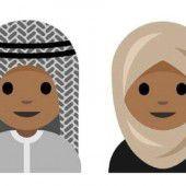 Emoji mit  Kopftuch