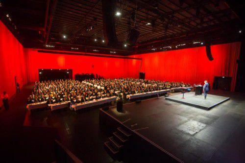 Die aktuellen Entwicklungen im Mittelpunkt: Das Vorarlberger Wirtschaftsforum schaut seit seiner Gründung immer nach vorne – heuer in die digitale Zukunft.  FOTO: VN/STEURER