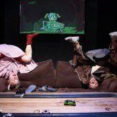 Rasantes Teenager-Theaterstück