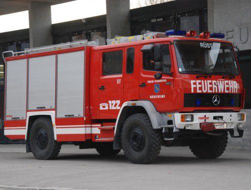 Die Feuerwehr Hohenems erhält 2018 ein neues Rüstfahrzeug. Foto: the
