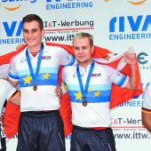 Bachmann/Feurstein mit Gold bei U-23-EM