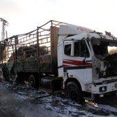 Syrien-Hilfen eingestellt