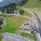 Neue Straße auf den Arlbergpass