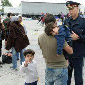 Flüchtlinge: Entwurf für Notverordnung fixiert