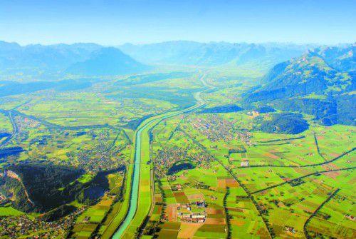 Die Region aus der Vogelperspektive erleben. Foto: VN