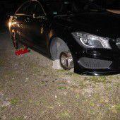 Täter beim Reifenklau in Riezlern überrascht