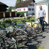 Fahrradständer an Haltestellen