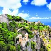 Burgherrenfeeling im mittelalterlichen Erice