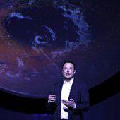 SpaceX-Chef Elon Musk will den Mars besiedeln