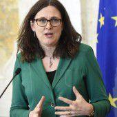 Malmström verteidigt CETA im Nationalrat