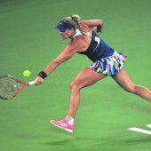 Kerber verlor gegen Kvitova
