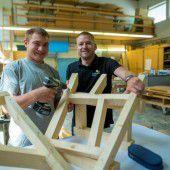 Solide Ausbildung im Holzbaubetrieb