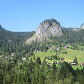 Das Bergdorf Ebnit als Kleinod in Vorarlberg