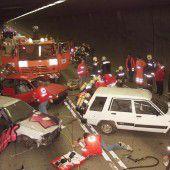 Arlbergtunnel wird für Einsatzübung gesperrt
