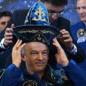 Rekord-Astronaut zur Erde zurückgekehrt