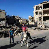 Notleidende Syrer warten trotz Feuerpause auf Hilfe