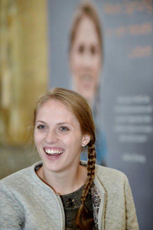 Kira Grünberg verarbeitete in einem Buch ihren Unfall.  Foto: apa