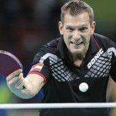 Gardos spielt um Bronze im Tischtennis-Einzel