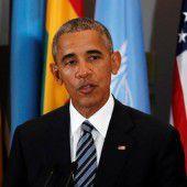 Obama lobt Österreich für Flüchtlingspolitik