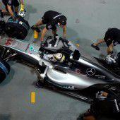 Rosberg mit Crash und Bestzeit