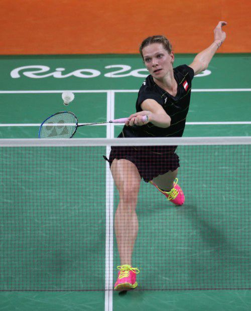 Badminton-Ass Lisi Baldauf ist bei der Universiade dabei.Foto: gepa