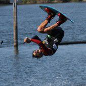 Die Gsi Berg Battle der Wakeboarder in Hard