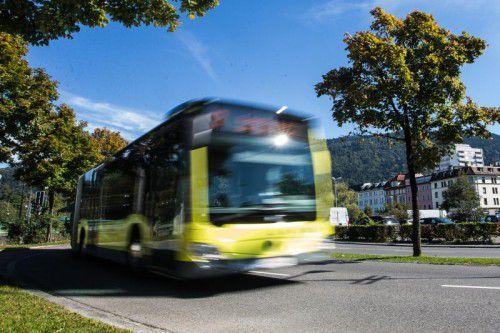 Bus und Bahn sind in Vorarlberg auf dem Vormarsch. Auch das Fahrrad gilt im Mobilitätskonzept als wichtige Zukunftssäule. VN/Steurer