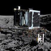 Ein fulminantes Ende für ESA-Sonde Rosetta
