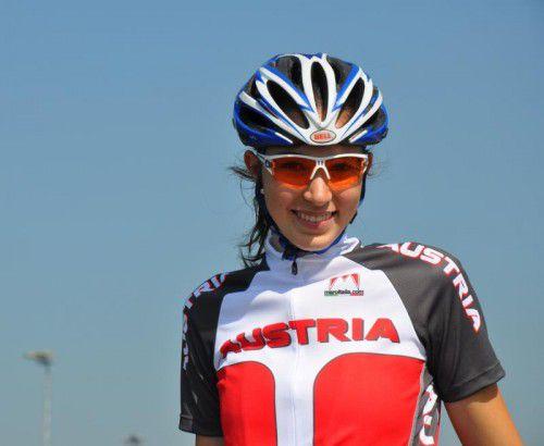 Melanie Amann erreichte in Schwaz Rang sieben. Foto: privat