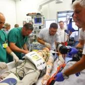 Notfalltraining so real wie das wirkliche Leben