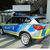 Bayerns Polizei fährt nun blau